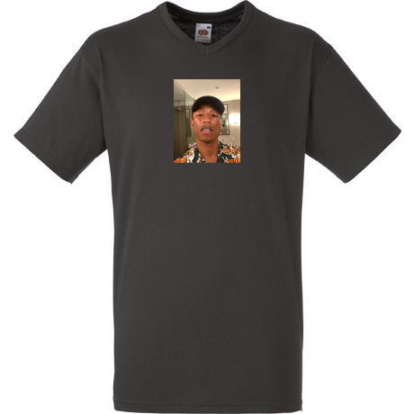 Koszulka V-neck Pharrell Williams Face