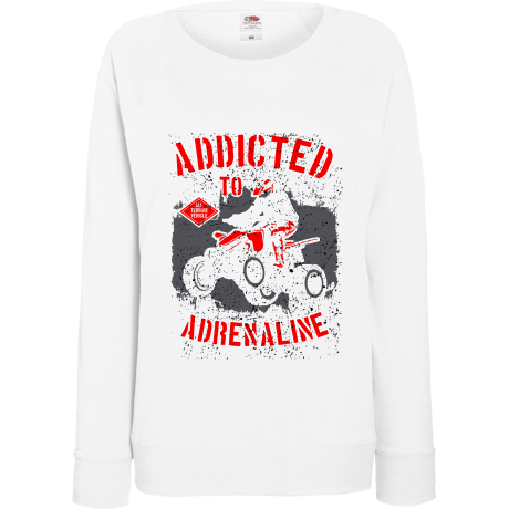 Damska bluza Addicted to adrenaline