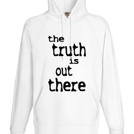 Bluza z kapturem The Truth Is Out There