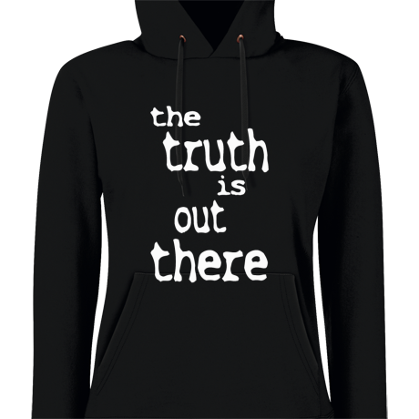 Damska bluza z kapturem The Truth Is Out There