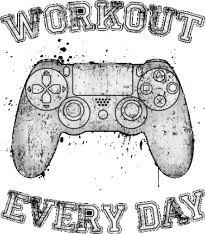 Nadruk - Playstation - Workout Every Day