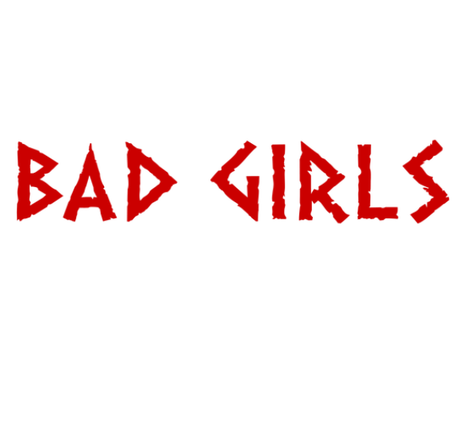 Nadruk Good Girls Go to Heaven, Bad Girls Go To Valhalla with Ragnar