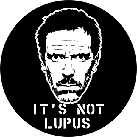 Nadruk It's Not Lupus