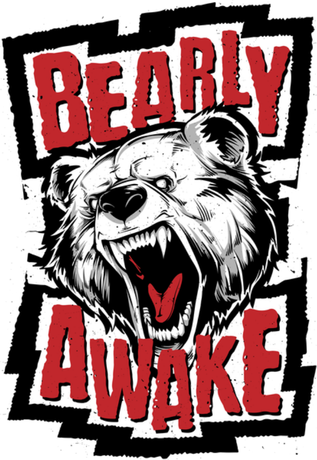 Nadruk Bearly awake