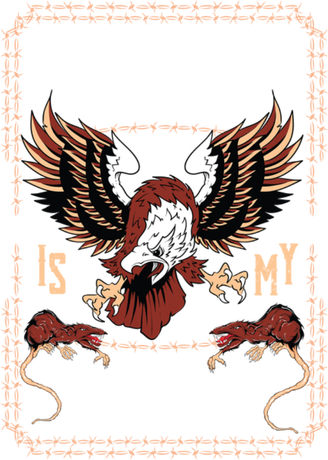 Nadruk Freedom is my goal