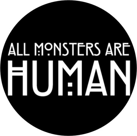 Nadruk All Monsters Are Human
