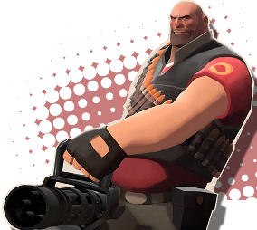 Nadruk Team fortress 2 Heavy