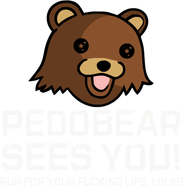 Nadruk Pedobear SEES YOU!