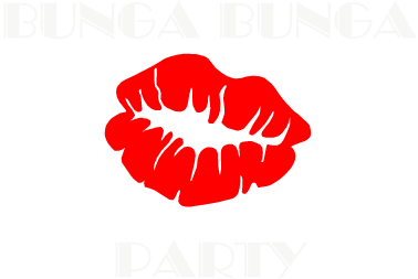 Nadruk Bunga Bunga Party