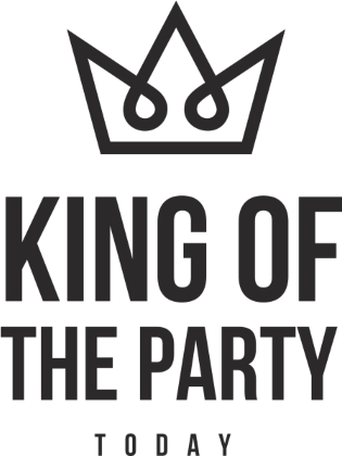 Nadruk KING OF THE PARTY