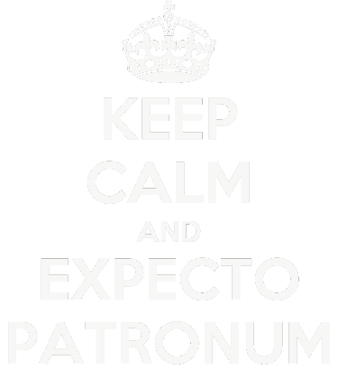 Nadruk KEEP CALM AND EXPECTO PATRONUM