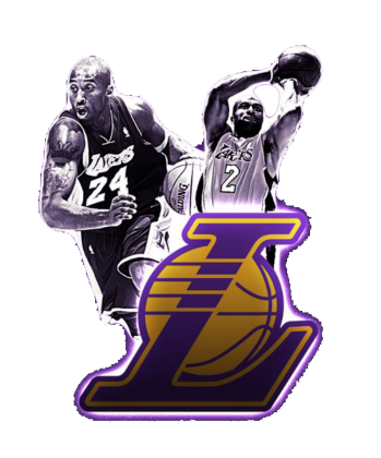 Nadruk NBA Lakers