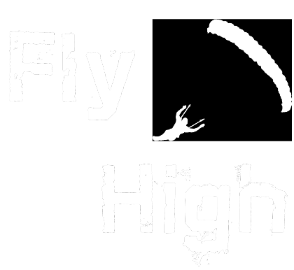 Nadruk Sky Camp Store - Fly High (damska - czarna)
