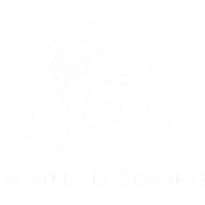 Nadruk Winter Is Coming VI