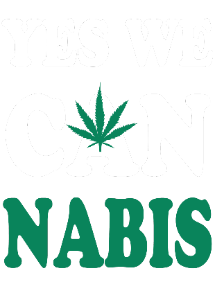 Nadruk Yes we cannabis