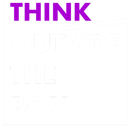 Nadruk Think outside the box 2 WP