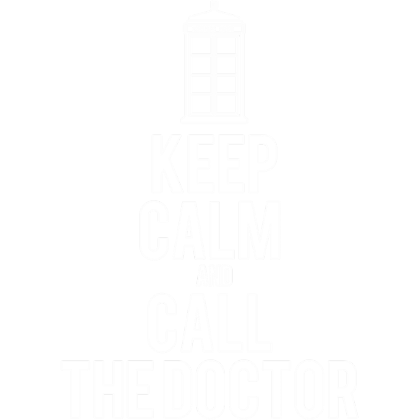 Nadruk Keep Calm and Call The Doctor