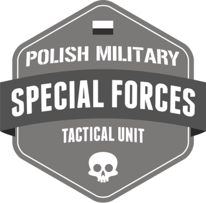 Nadruk Polish Special Forces