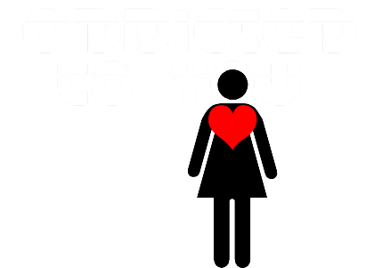 Nadruk T-Shop Addicted to You
