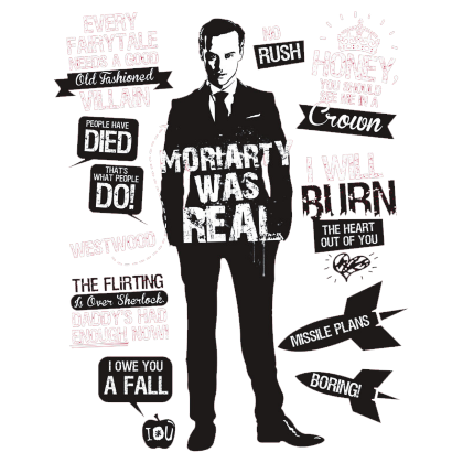 Nadruk Moriarty Was Real