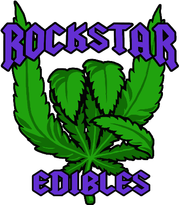 Nadruk Rock n,Roll Edibles