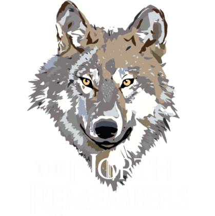 Nadruk The North Remembers
